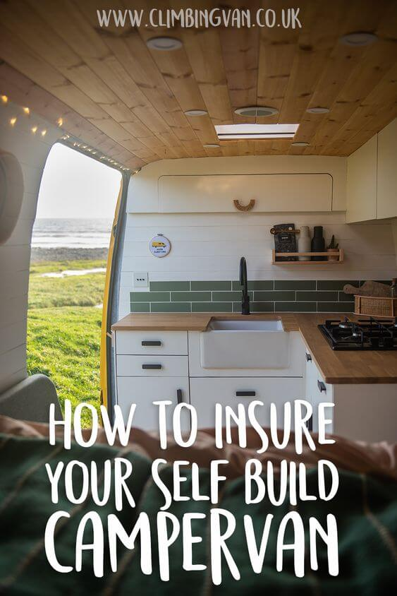 how to insure your self build campervan insurance