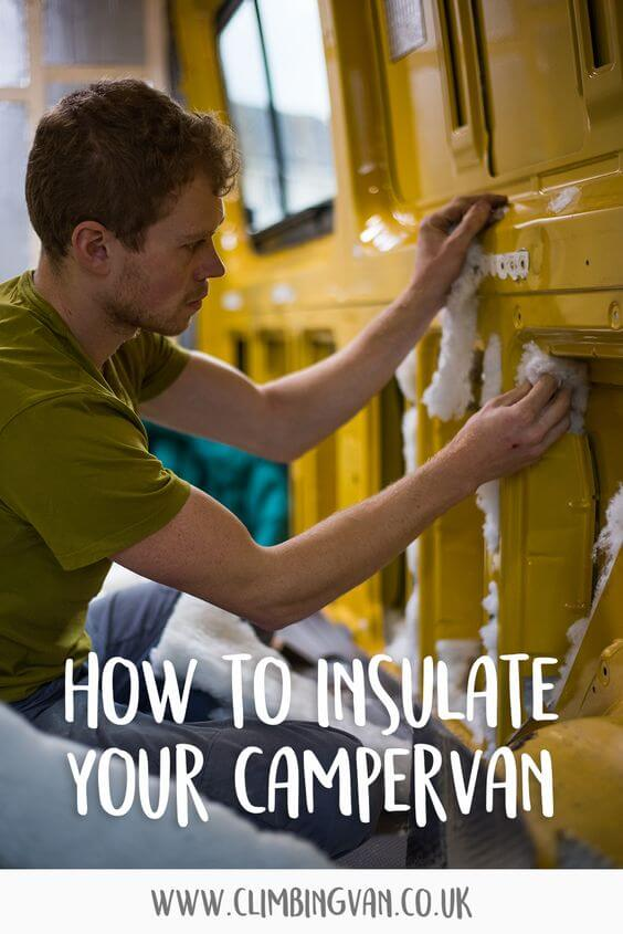how to insulate your campervan conversion with thermal insulation board
