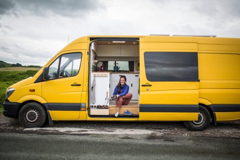 should you put a toilet in your campervan?